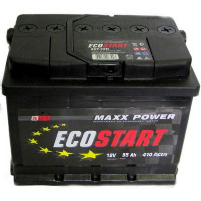 Автомобильный аккумулятор Ecostart 62 о.п. 9174317