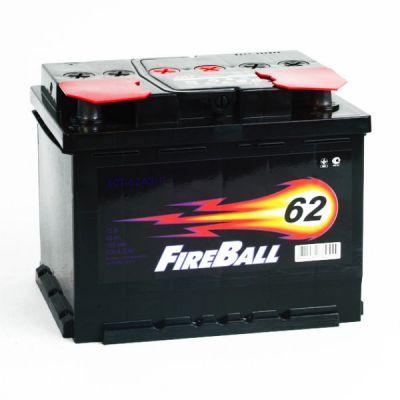 Автомобильный аккумулятор FireBall 6СТ-62 (0) о.п 9168499