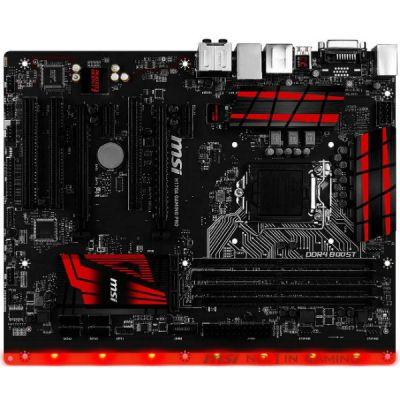 ����������� ����� MSI H170A GAMING PRO
