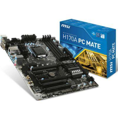 ����������� ����� MSI H170A PC MATE