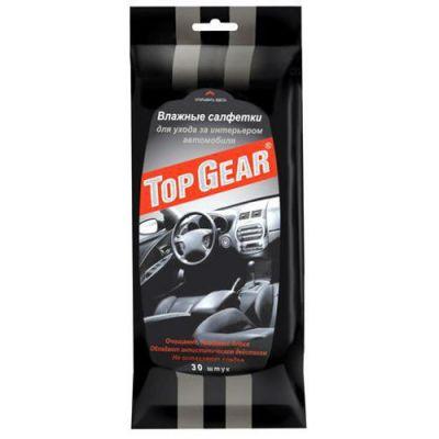 Top Gear Салфетки влажные №30 для ухода за салоном а/м 20490