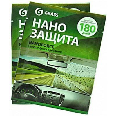 """Grass Салфетка для стекол """"Nano Force"""" NF03"""