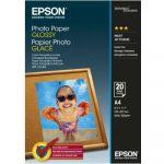 Расходный материал Epson A4 200г/м2 глянцевая 20л C13S042538