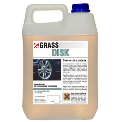 """Grass Моющее средство для различных поверхностей """"Disk"""" (канистра 1 л) Grass 117100"""
