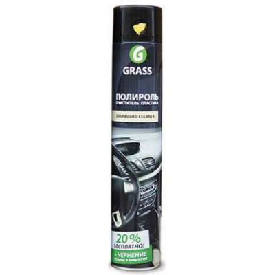 Grass Полироль-очиститель пластика глянцевый Лимон, 750мл. 120107-1