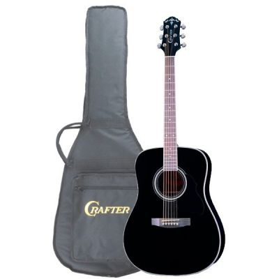 Акустическая гитара Crafter MD 58/BK + чехол