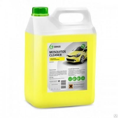 Grass Средство по уходу за автомобилями «Mosquitos Cleaner» (канистра 5 кг) 118101