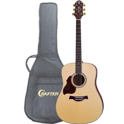 Акустическая гитара Crafter D 8L/N + чехол леворукая
