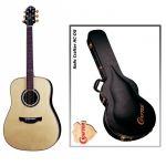 Акустическая гитара Crafter DLX 3000/RS + кейс