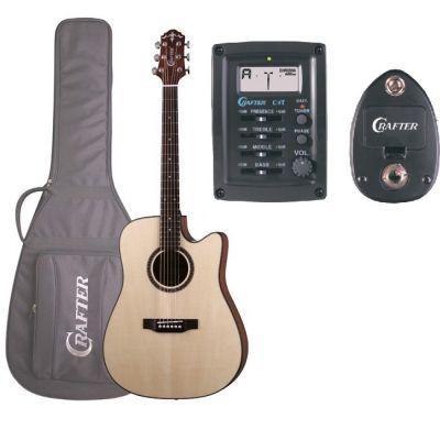 Акустическая гитара Crafter HILITE-DE SP/N