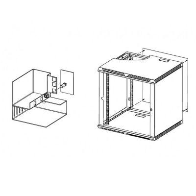 ЦМО Стенка задняя к шкафу ШРН, ШРН-Э и ШРН-М 12U в комплекте с крепежом А-ШРН-12