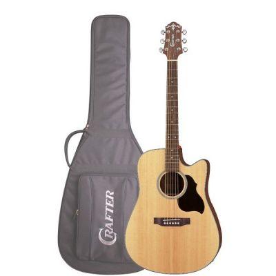 Электроакустическая гитара Crafter LITE-DE SP/N+чехол