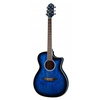 Электроакустическая гитара Crafter FC-550EQ/MS