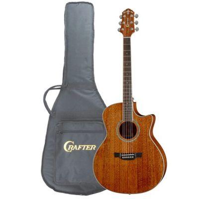 Электроакустическая гитара Crafter GAE 8MH/BR + чехол