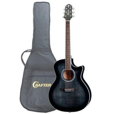 Электроакустическая гитара Crafter GCL 80/BKS + Чехол