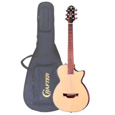 Электроакустическая гитара Crafter CT-120/N + Чехол