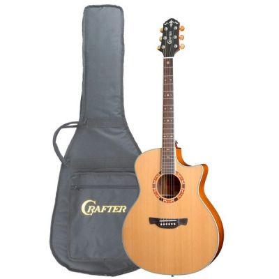 Электроакустическая гитара Crafter GAE-15/N + Чехол