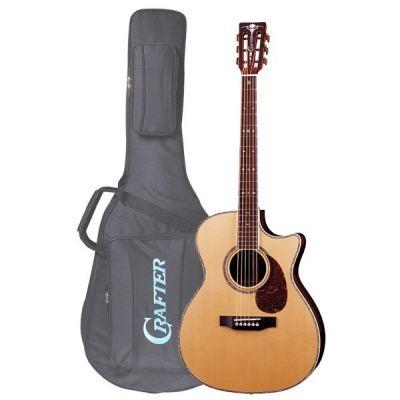 Электроакустическая гитара Crafter TMC-035/N + Чехол