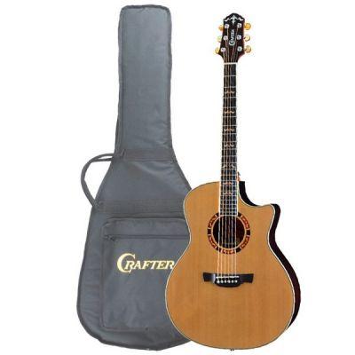 Электроакустическая гитара Crafter GAE-18 CD/N Чехол
