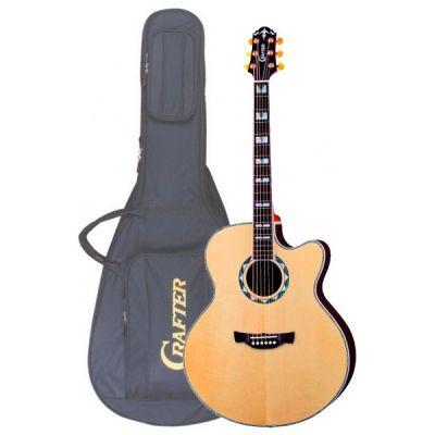 Электроакустическая гитара Crafter JE 24/N + Чехол