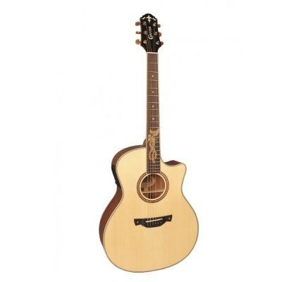 Электроакустическая гитара Crafter PK-Maho Plus + Кейс