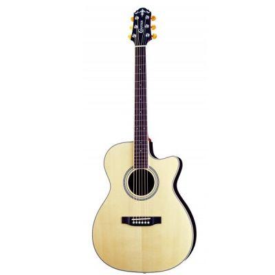 Электроакустическая гитара Crafter TV 300CEQ/NV + Кейс