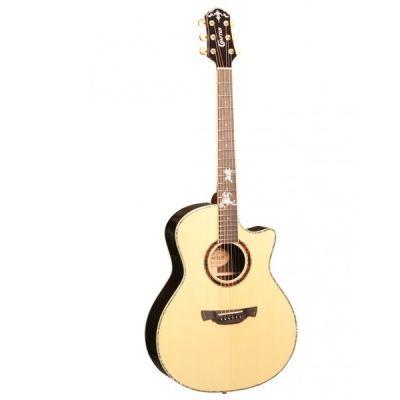 Электроакустическая гитара Crafter PG-Rose Plus + Кейс