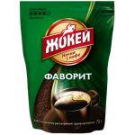 Кофе Жокей Фаворит (75г, растворимый гранулированный, в мягкой упаковке) 1011-24