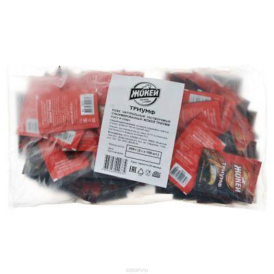 Кофе Жокей Триумф (100х2г, растворимый сублимированный, в пакете) 0933-06