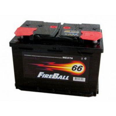Автомобильный аккумулятор FireBall 6СТ-66 (1) п.п 9168505