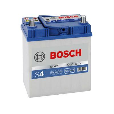Автомобильный аккумулятор Bosch Asia 40 о.п. (S4 018) 540 126 033 узк. кл. 9166240
