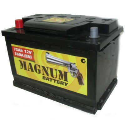 Автомобильный аккумулятор Magnum 75 п.п. 9177701