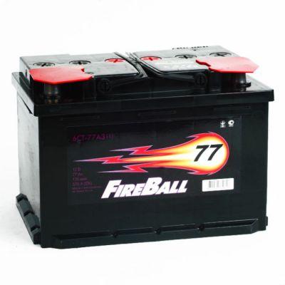 Автомобильный аккумулятор FireBall 6СТ-77 (1) п.п. 9168509
