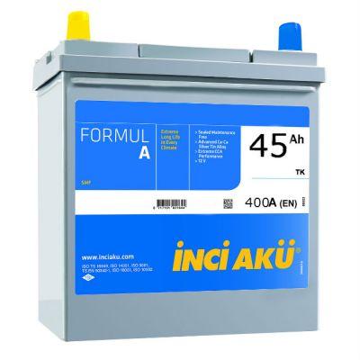 Автомобильный аккумулятор Formula Inci (8394) Asia 45 (400) (NS60 045 040 030) о.п. w/ terminal adaptor 9174535