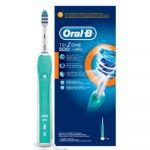 Электрическая зубная щетка Oral-B Trizone 500 белый