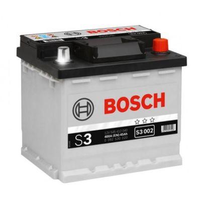 Автомобильный аккумулятор Bosch 45 о.п. (S3 002) 545 412 040 9166229