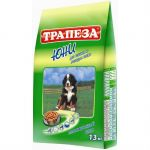 Сухой корм Трапеза Юни 13 кг для щенков