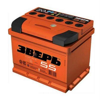 Автомобильный аккумулятор Зверь (ЗВ) 55АЗ-L п.п. 9138252