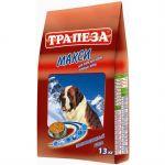 Сухой корм Трапеза МАКСИ 13 кг для собак крупных пород