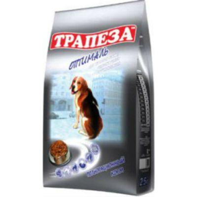 Сухой корм Трапеза Оптималь 13 кг для взрослыхсобак