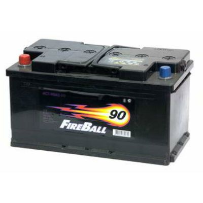 Автомобильный аккумулятор FireBall 6СТ-90 (1) п.п 9168511