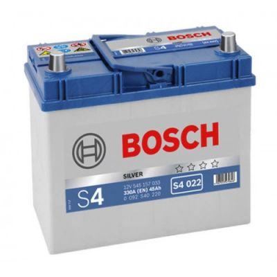 Автомобильный аккумулятор Bosch Asia 45 п.п. (S4 022) 545 157 033 узк. кл. 9166244