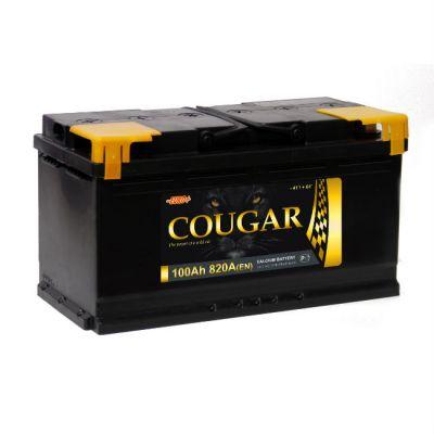 Автомобильный аккумулятор Cougar 100 п.п. 9177334
