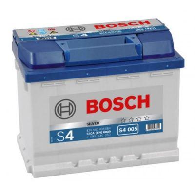 Автомобильный аккумулятор Bosch 60 о.п. (S4 005) 560 408 054 9135436