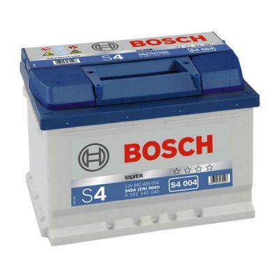 Автомобильный аккумулятор Bosch 60 о.п. (S4 004) 560 409 054 низк. 9164540