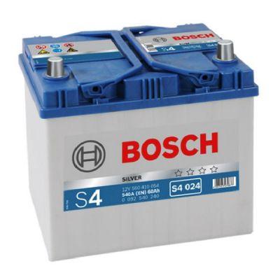 Автомобильный аккумулятор Bosch Asia 60 о.п. (S4 024) 560 410 054 9166246