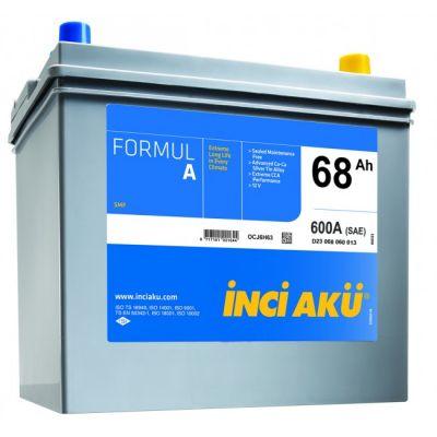 Автомобильный аккумулятор Formula Inci (8397) Asia 68 (600) (D23 068 060 011) о.п. 9174550