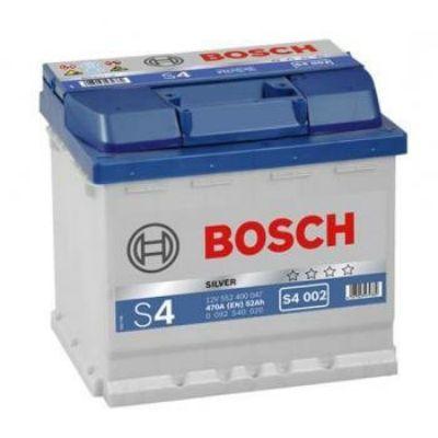Автомобильный аккумулятор Bosch 52 о.п. (S4 002) 552 400 047 9164560
