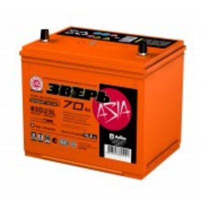 Автомобильный аккумулятор Зверь (ЗВА) 70АЗ п.п. 85D23R (2014) 9168390
