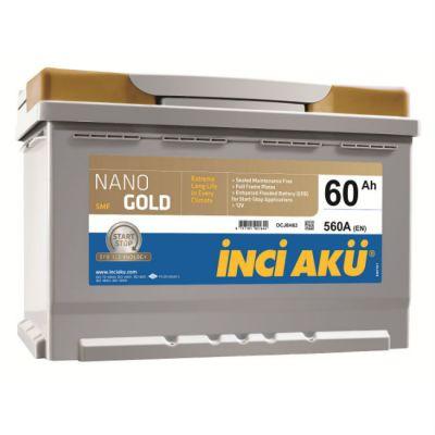 Автомобильный аккумулятор NanoGold Inci Start-Stop EFB (6776) 60 (560) о.п. 9176509